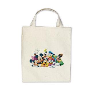 Mickey Mouse y amigos 5 Bolsas De Mano