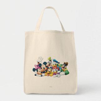 Mickey Mouse y amigos 5 Bolsa Tela Para La Compra