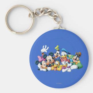 Mickey Mouse y amigos 5 Llaveros Personalizados