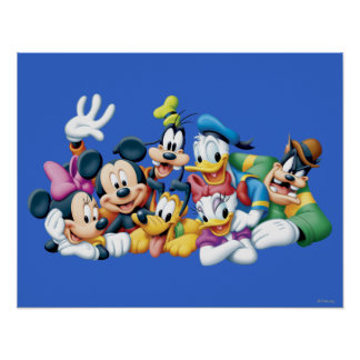 Mickey Mouse y amigos 5 Póster
