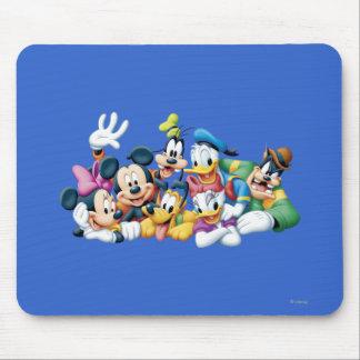 Mickey Mouse y amigos 5 Alfombrillas De Ratones