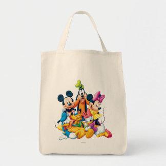 Mickey Mouse y amigos 6 Bolsa Tela Para La Compra