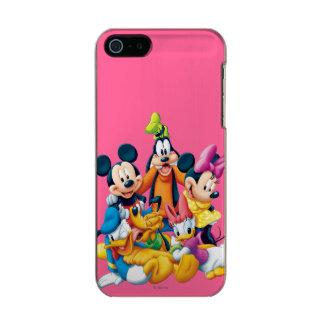 Mickey Mouse y amigos 6 Funda Para iPhone 5 Incipio Feather Shine