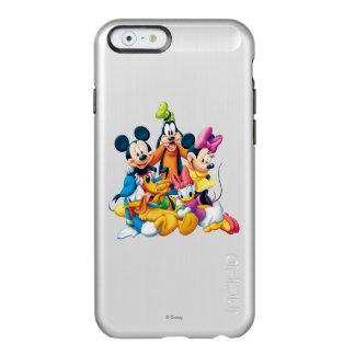 Mickey Mouse y amigos 6 Funda Para iPhone 6 Plus Incipio Feather Shine