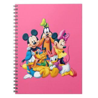 Mickey Mouse y amigos 6 Libreta Espiral