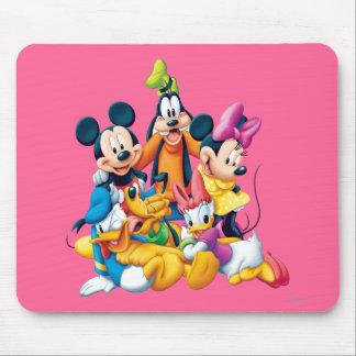 Mickey Mouse y amigos 6 Alfombrillas De Ratón