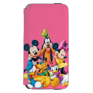 Mickey Mouse y amigos 6 Funda Cartera Para iPhone 6 Watson