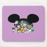 Mickey Mouse y amigos 7 Alfombrillas De Raton