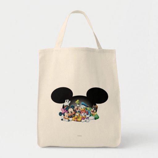 Mickey Mouse y amigos 7 Bolsas