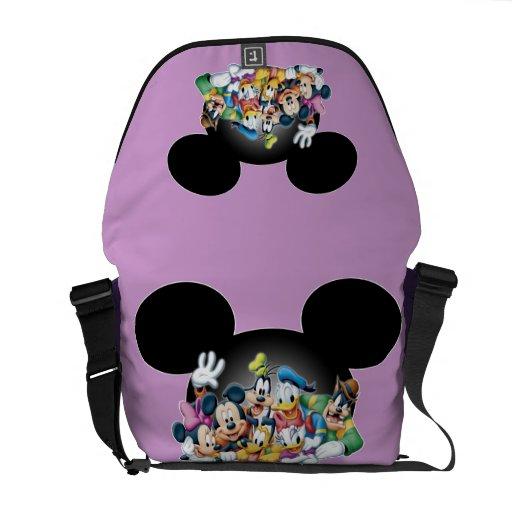 Mickey Mouse y amigos 7 Bolsas De Mensajería