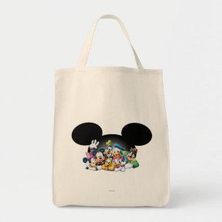 Mickey Mouse y amigos 7 Bolsa Tela Para La Compra
