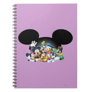Mickey Mouse y amigos 7 Libreta Espiral