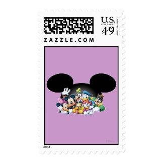 Mickey Mouse y amigos 7 Franqueo