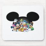Mickey Mouse y amigos Alfombrillas De Raton