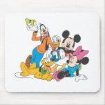 Mickey Mouse y amigos Tapetes De Ratón