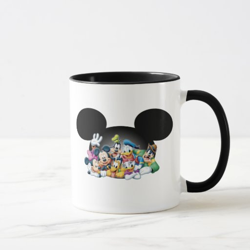 Mickey Mouse y amigos Taza