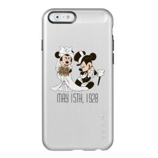 Mickey Mouse y boda de Minnie Funda Para iPhone 6 Plus Incipio Feather Shine