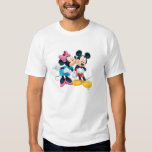 Mickey Mouse y Minnie 2 Camisas