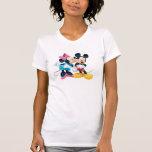 Mickey Mouse y Minnie Camiseta