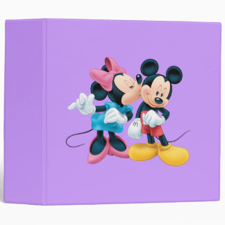 Mickey Mouse y Minnie Carpeta 2""