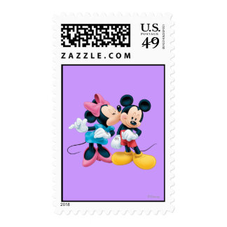 Mickey Mouse y Minnie Sello