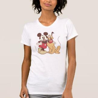 Mickey Mouse y Plutón Playeras
