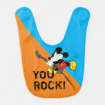 Mickey Mouse | You Rock, Dad! Baby Bib