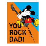 Mickey Mouse | You Rock, Dad! Postcard