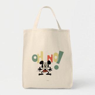 ¡Mickey - oh no! Bolsa Tela Para La Compra
