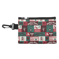 Clip On Accessory Bag with Mickey Mouse Patterns design