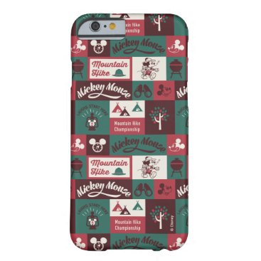 Mickey   Outdoor Adventure Pattern Barely There iPhone 6 Case