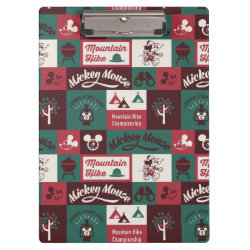 Clipboard with Mickey Mouse Patterns design