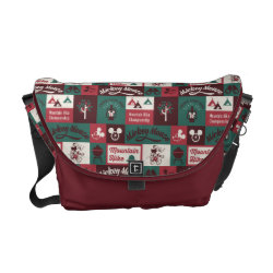Mickey | Outdoor Adventure Pattern Courier Bag