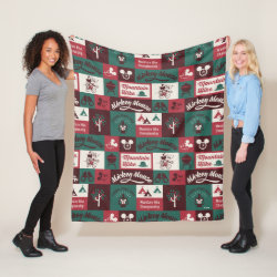 Fleece Blanket, 50'x60' with Mickey Mouse Patterns design