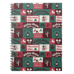 Photo Notebook (6.5' x 8.75', 80 Pages B&W) with Mickey Mouse Patterns design