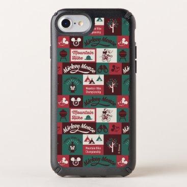 Mickey   Outdoor Adventure Pattern Speck iPhone Case