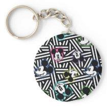 Mickey Pattern 4 Keychain