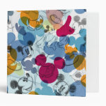 Mickey Pattern 5 Binder