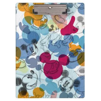 Mickey Pattern 5 Clipboard