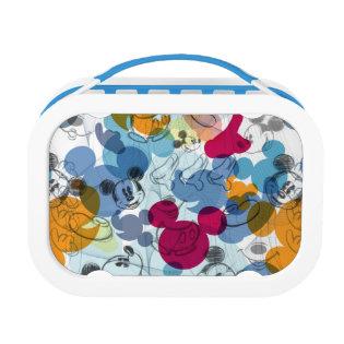 Mickey Pattern 5 Lunch Box