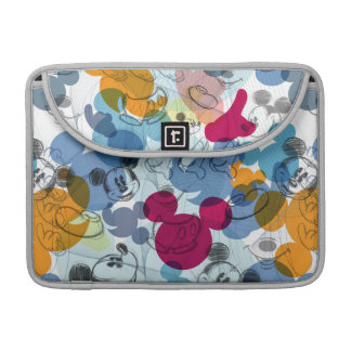 Mickey Pattern 5 Sleeves For MacBook Pro