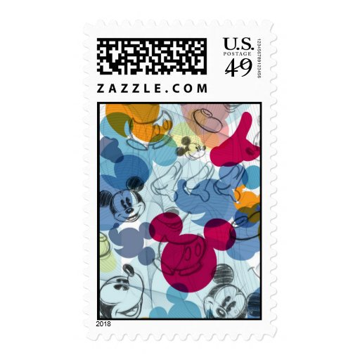 Mickey Pattern 5 Stamps
