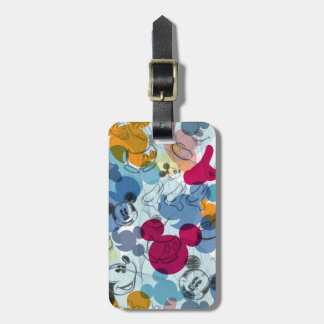 Mickey Pattern 5 Tags For Luggage