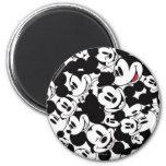 Mickey Pattern 6 2 Inch Round Magnet