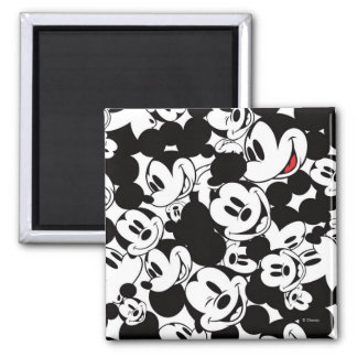 Mickey Pattern 6 2 Inch Square Magnet