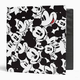 Mickey Pattern 6 3 Ring Binder