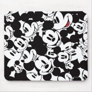 Mickey Pattern 6 Mouse Pad