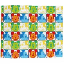 Mickey Pattern 7 3 Ring Binder