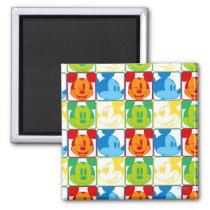 Mickey Pattern 7 Magnet