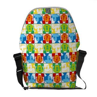 Mickey Pattern 7 Messenger Bag